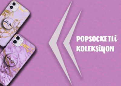 El Yazılı Mermer Popsocket