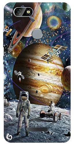 Uzay Koleksiyon Casper Via M4 Uzay Desenli Silikon Kılıf 31